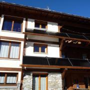 L'installation solaire (façade Sud)